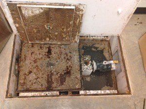 Another poorly maintained greasetrap