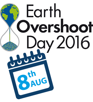 Earth Overshoot Day - Today!